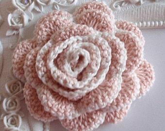 Crochet flower applique CH-022-07