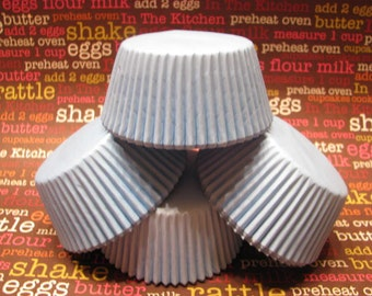 50 Premium Pale Baby Blue Cupcake Wrapper/ Blue Baking Cups/ Blue Cupcake Liners