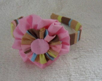 fabric covered headband