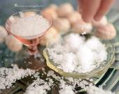 Sea Salt, Crystal salt, Gourmet salt, Natural raw salt, Bbq flavor, Salt box, From Mani's rocks, 130gr