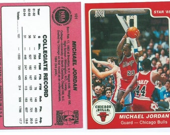 1985 STAR Company Micheal Jordan Rookie RP Red Version (or Black or White) see description