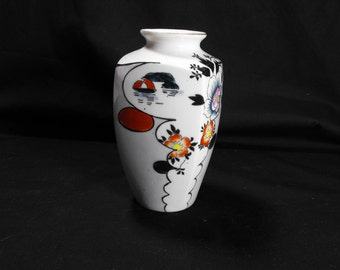 Goldcastle Chickusa Flowered Vase