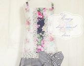 New Dress Release - Vintage Dress Pattern - Emery Drop Waist Dress Pattern - Instant Download