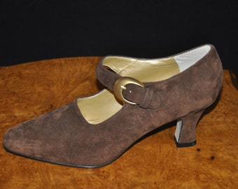 Cocoa Suede 9 & Co. Shoes