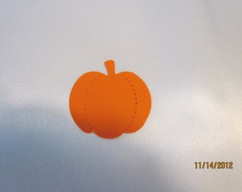 pumpkin die cuts