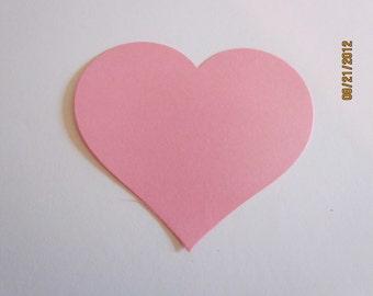 large heart die cuts