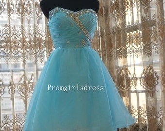 Homecoming Dress, Short Prom Dresses, Short Prom Dress 2014, Short Prom Dresses, Sweetheart Prom Dress