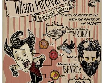 Don't Starve-Wilson Percival Higgsbury