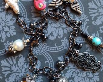 One of a Kind Charm Bracelet