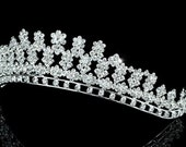 Exquisite Bridal Wedding Pageant Sparkling Crystal Tiara (500)