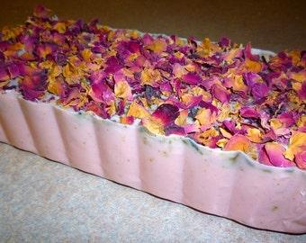 Moroccan Soap Loaf, Rose Soap Loaf - 3LB., Rose Soap Loaf, Vegan Soap Loaf, Handmade Soap Loaf, Wholesale Soap,Wholesale Soap Loaf