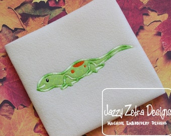 Newt or lizard applique