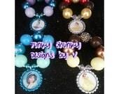 Princess Chunky Bracelet Party Favors