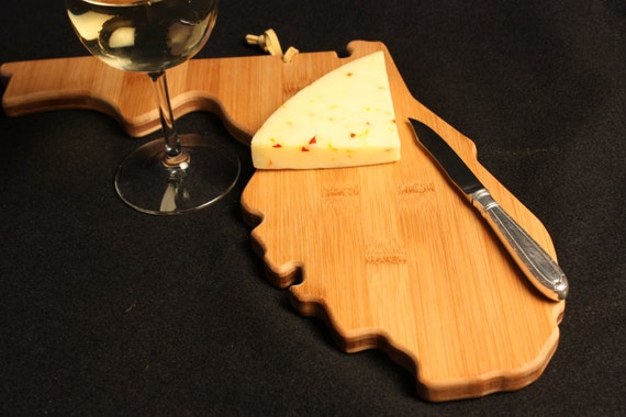 florida state shaped cutting board personalized by aestheticwood. Black Bedroom Furniture Sets. Home Design Ideas
