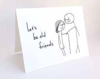 Witty Love Card  Best Friend Card  Funny Romantic Card