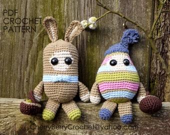 Easter Spirits PDF crochet pattern
