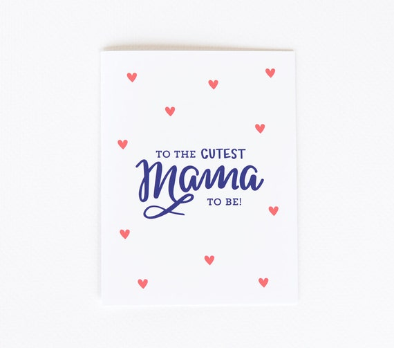 Mom-to-be Card