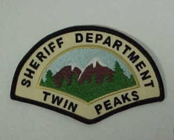 Twin Peaks Sheriff'sDepartment Patch