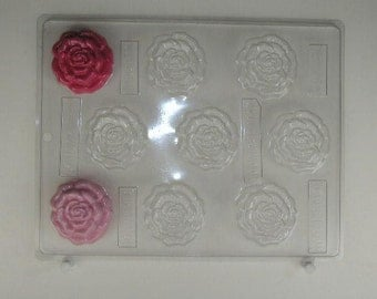 Bite size Rose mints AO153 Chocolate Candy Mold