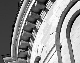 Digital Photography,#1108,ARCHITECTURE DETAIL,architecture,City of Kingston,black and white,photographic print,wall art,art print,photograph