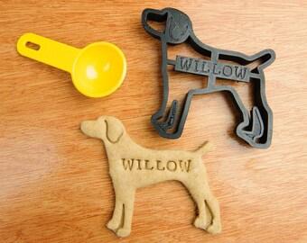 Weimaraner Cookie Cutter Weimaraner Dog Custom Treat Personalized Pet