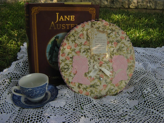 Pride and Prejudice Hoop Wall Decor