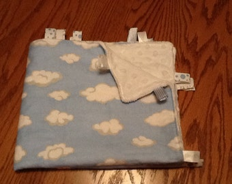 SALE ....Cloud Ribbon Blanket