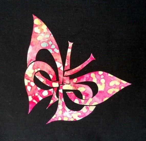 Easy Celtic Butterfly Quilt Applique Pattern Design