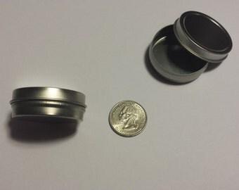 1/2 (0.5) oz slipcover tin set of 10 (15 ml) lip balms, salves, candies, mini candles