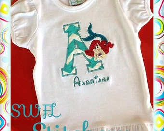 Personalized Ariel T-shirt