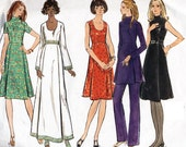 Vogue Sewing Pattern 2600 Misses/Miss Petite Dress, Top, Pants Size 8-16