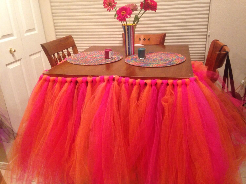 Custom Table Skirt 55