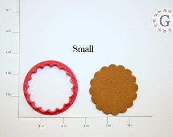 Round Scallop Cookie Cutter
