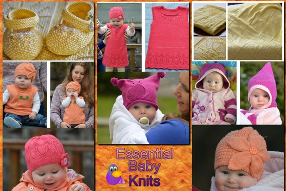 Knitting Pattern Essentials Review : Knitting Patterns Essential Baby Knits PDF E-book