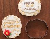 """Handmade """"Anna"""" Plaque Cookie Cutter (KS06)"""