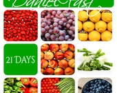 Daniel Fast Recipe Mini E-Book