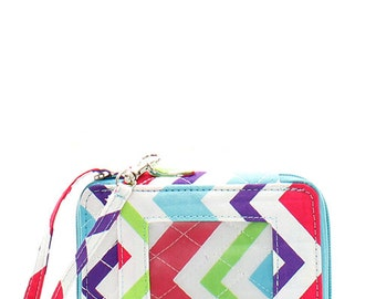 Quilted Chevron Wallet