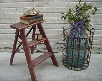 popular items for tabouret rouge on etsy. Black Bedroom Furniture Sets. Home Design Ideas