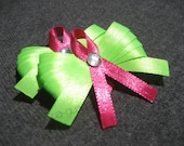 Breast Cancer Awareness Dog Bows - ElGuaguauBoutique