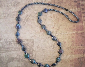 Faux Freshwater Pearl Necklace