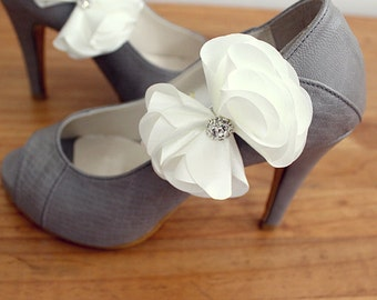 Bridal Shoe Clips,Shoe Clips,Wedding Clips, Bridal Shoe Accessories,wedding shoes corsage,shoeclip