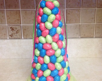 Easter Sale was 25.00 now 22.50, Easter Egg Tree. Easter Centerpieces, Handmade Easter Tree, Happy Easter, Easter Tree,