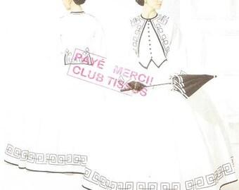 Simplicity 3791 Misses' Civil War Costume Pattern, 8-14