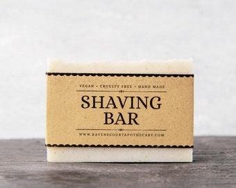 Shaving Bar  | Natural Vegan Shaving Soap