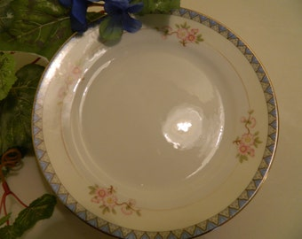 Set of 4 Vintage Noritake The Marne Luncheon or Salad Plates