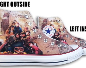 The Goonies Custom Converse All Stars