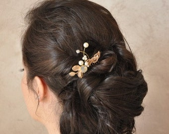 Small comb hair for bride, colorful wedding jewelry