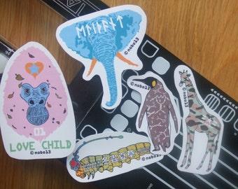 Cool Animal Vinyl Stickers