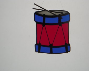 Stained Glass Drum