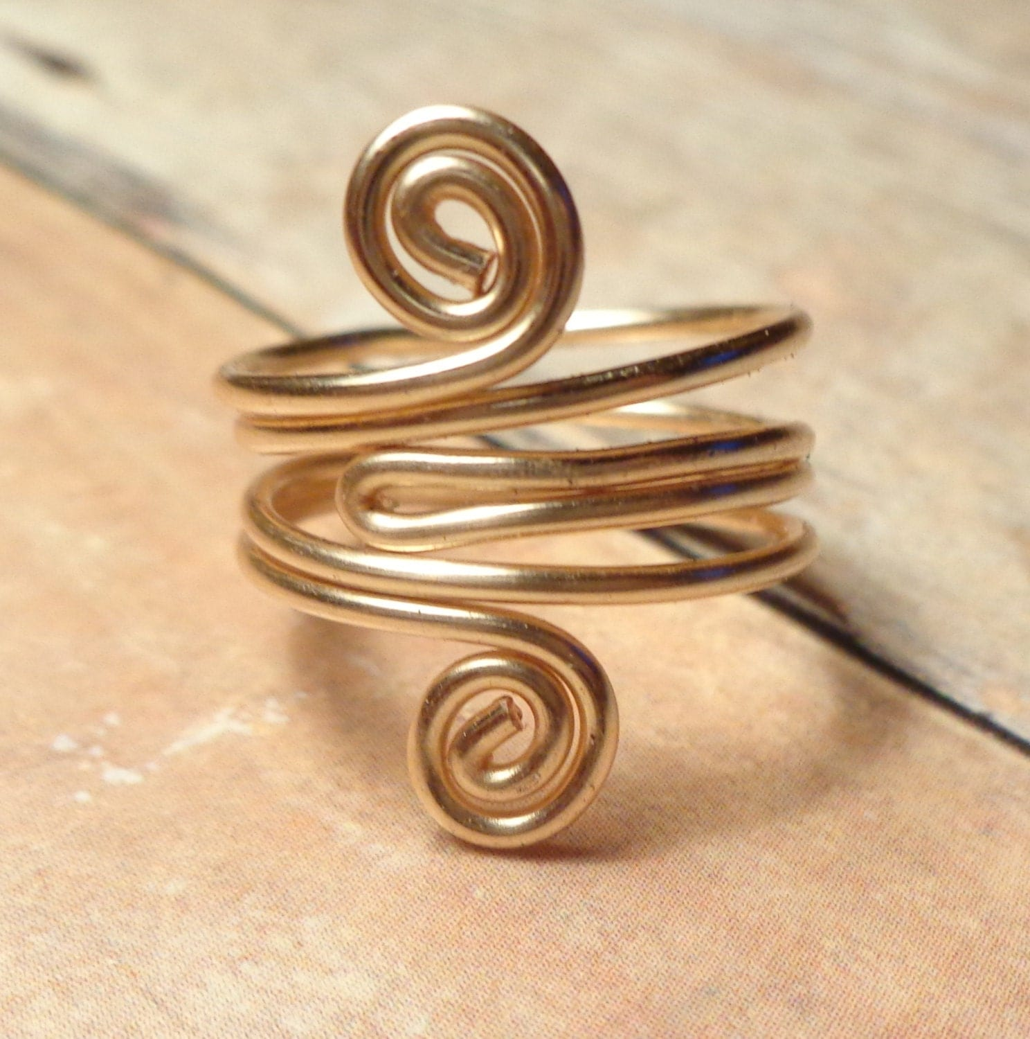 gold knuckle ring middle finger ring gold by donkatchajewelry